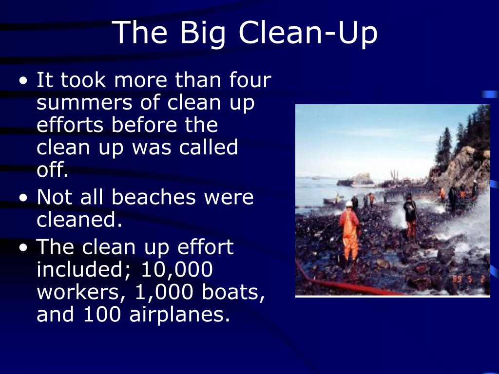 The Big Clean-Up