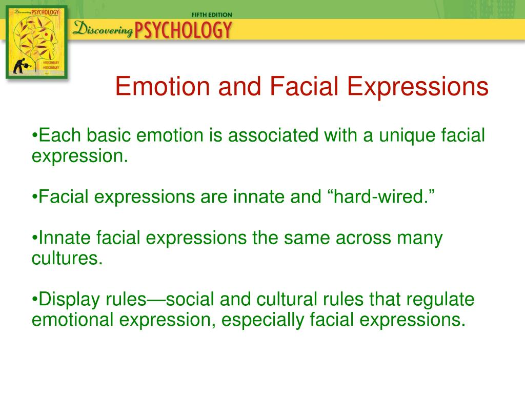 different cultures and emotions Constants across cultures in the face and emotion ' paul ekman2 university of california, san francisco bers of this same culture, a number of different judg-.