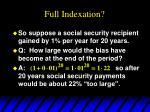 full indexation13