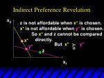 indirect preference revelation5