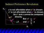 indirect preference revelation6
