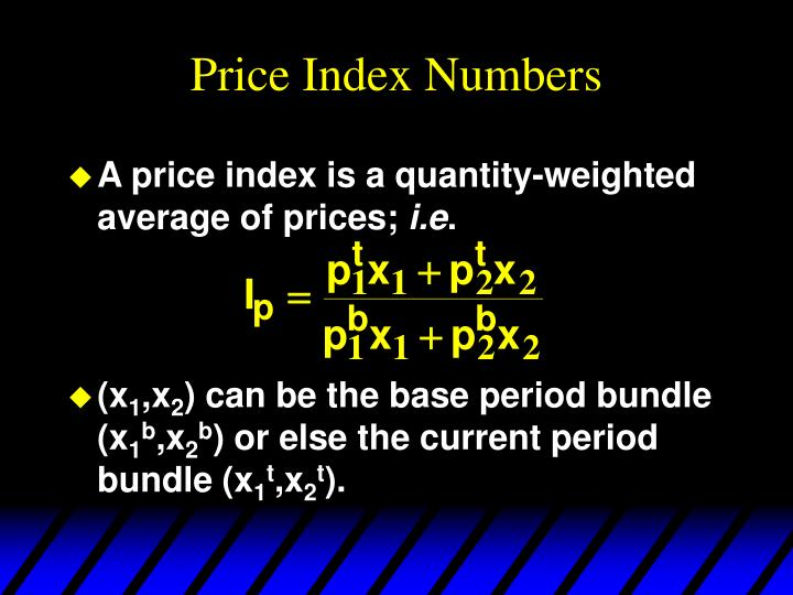 Price Index Numbers