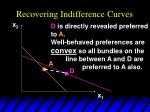 recovering indifference curves30