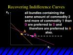 recovering indifference curves32