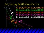 recovering indifference curves7