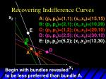 recovering indifference curves8