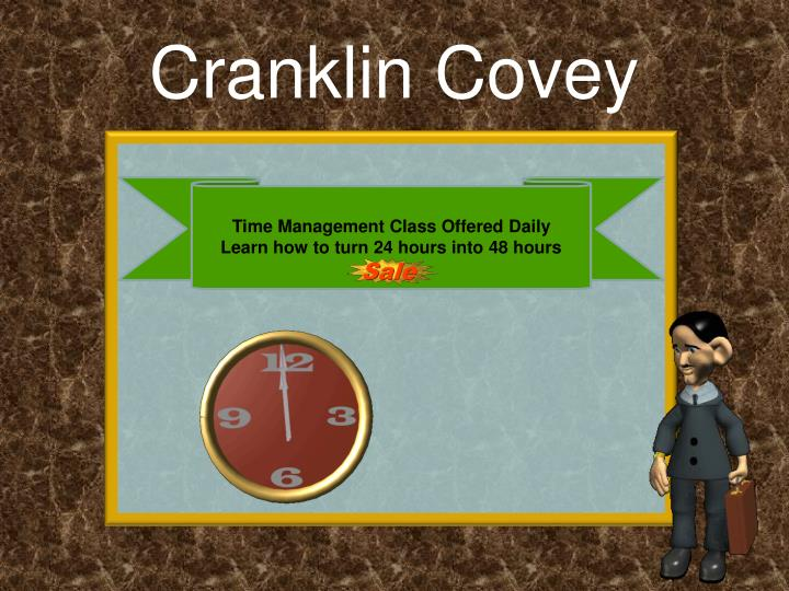 Cranklin Covey