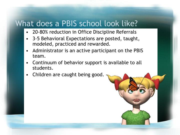 What does a PBIS school look like?