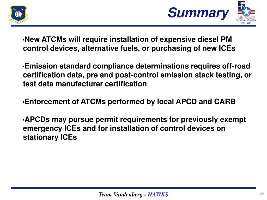 New ATCMs will require installation of expensive diesel PM control devices, alternative fuels, or purchasing of new ICEs