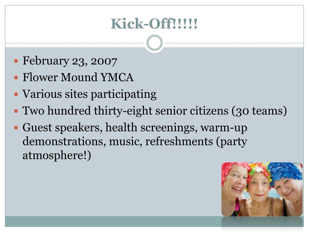 Kick-Off!!!!!