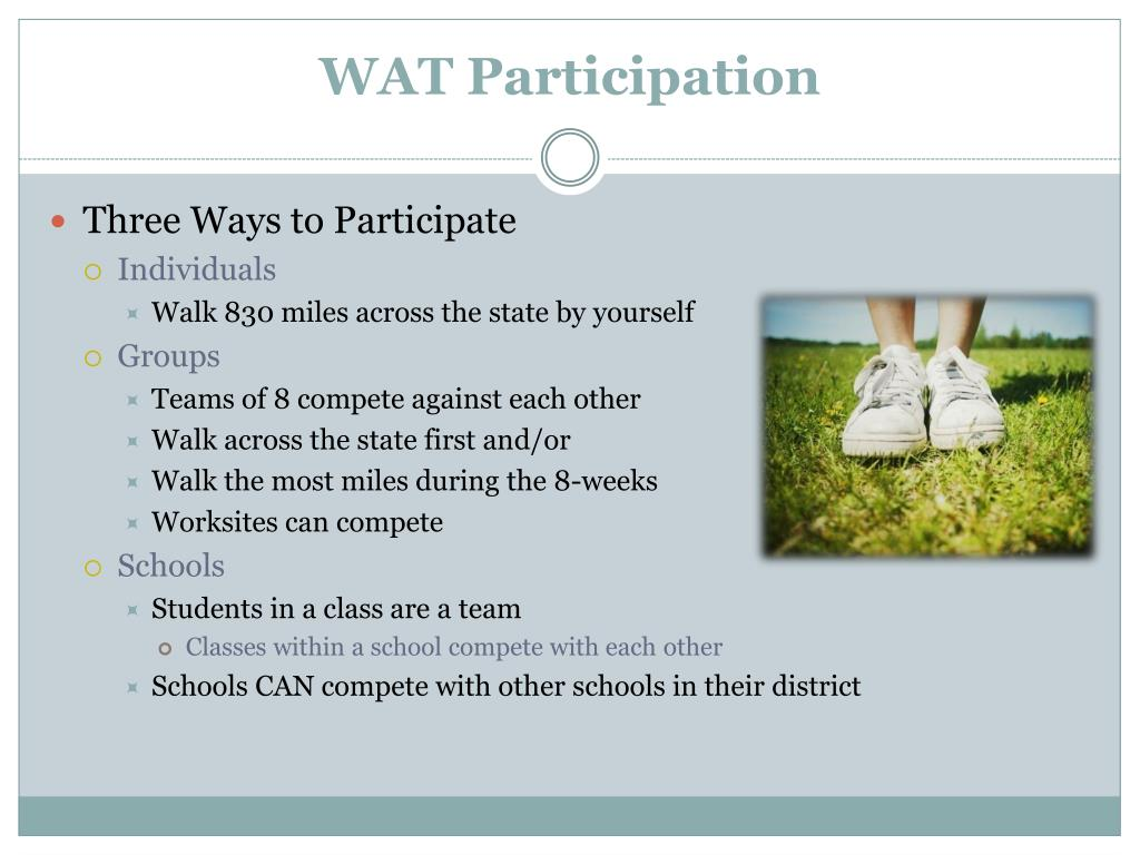 WAT Participation