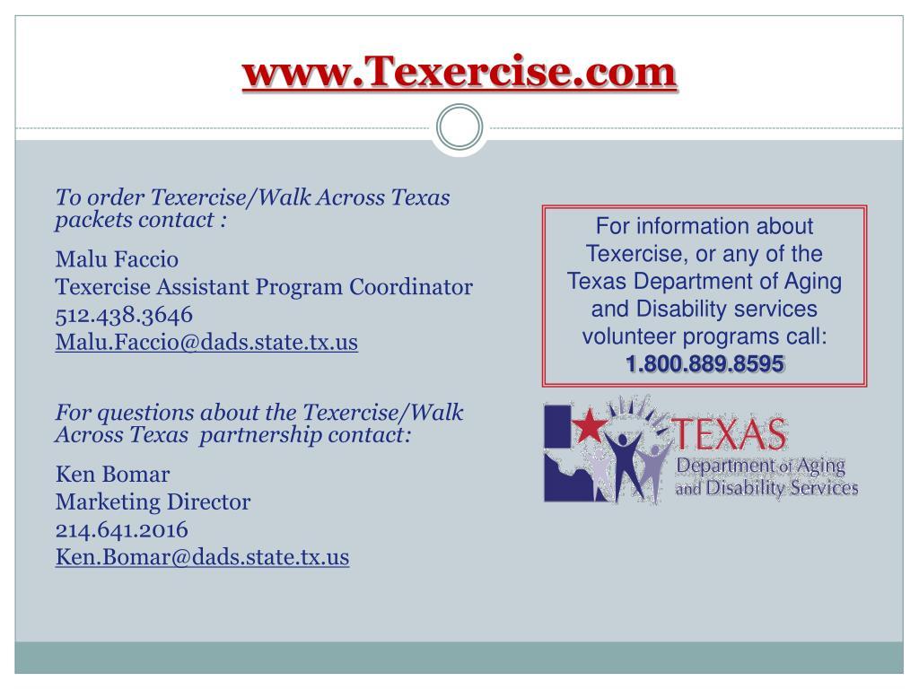 www.Texercise.com