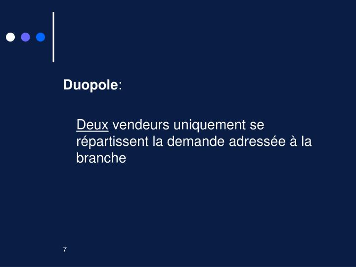 Duopole