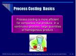 process costing basics