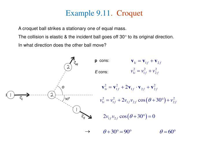 Example 9.11