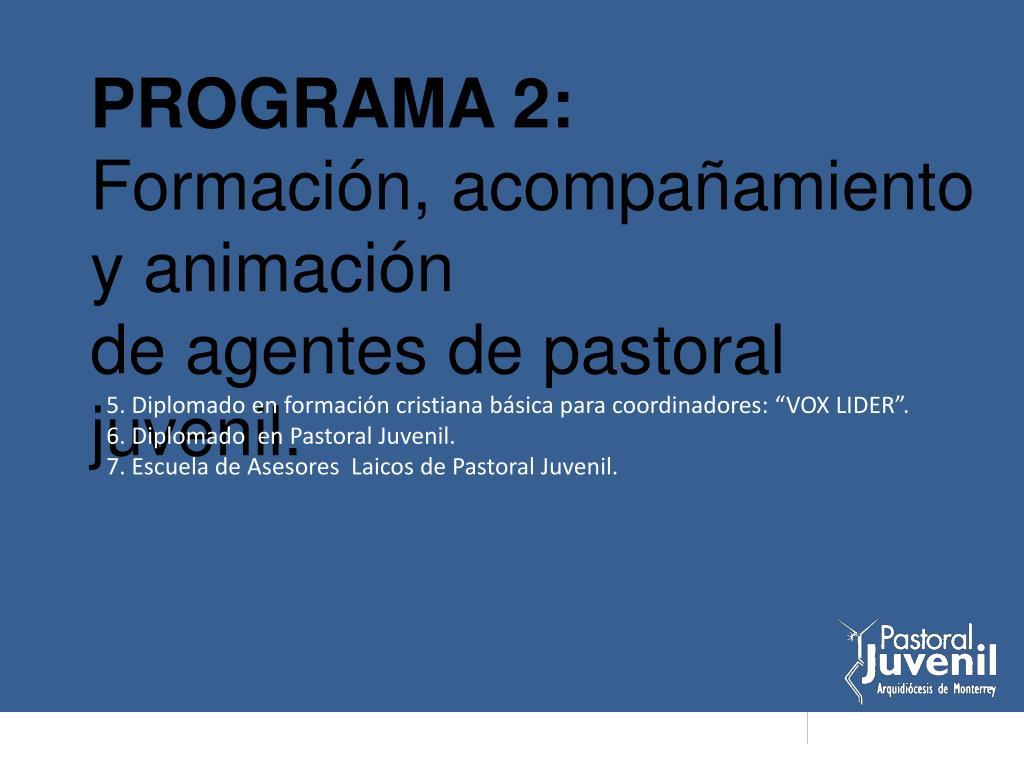 PROGRAMA 2: