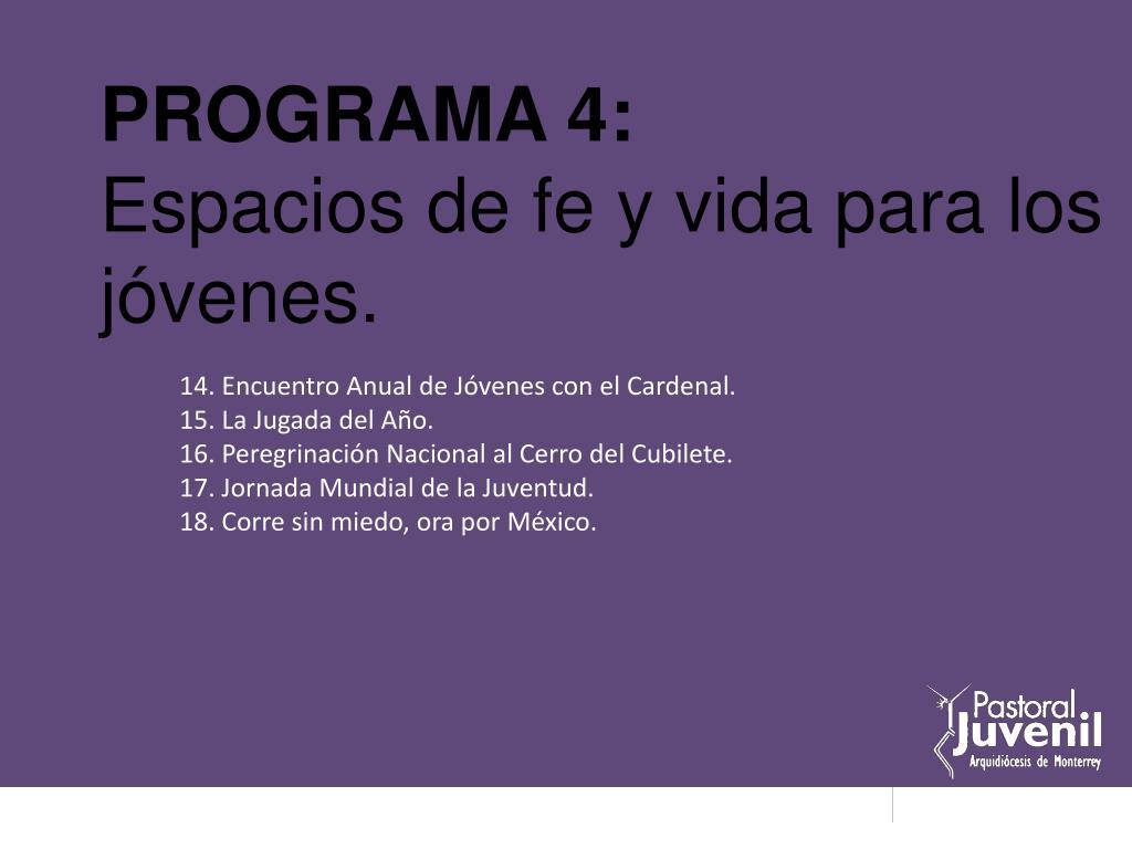 PROGRAMA 4: