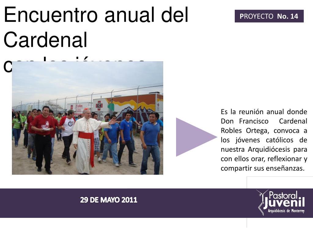 Encuentro anual del Cardenal