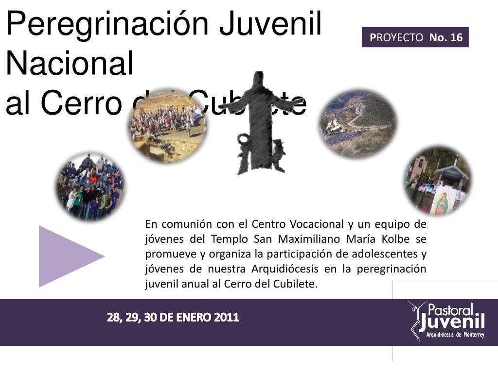 Peregrinación Juvenil Nacional