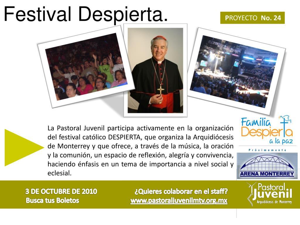 Festival Despierta.