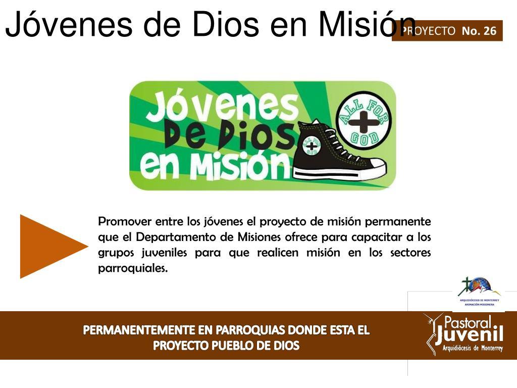 Jóvenes de Dios en Misión