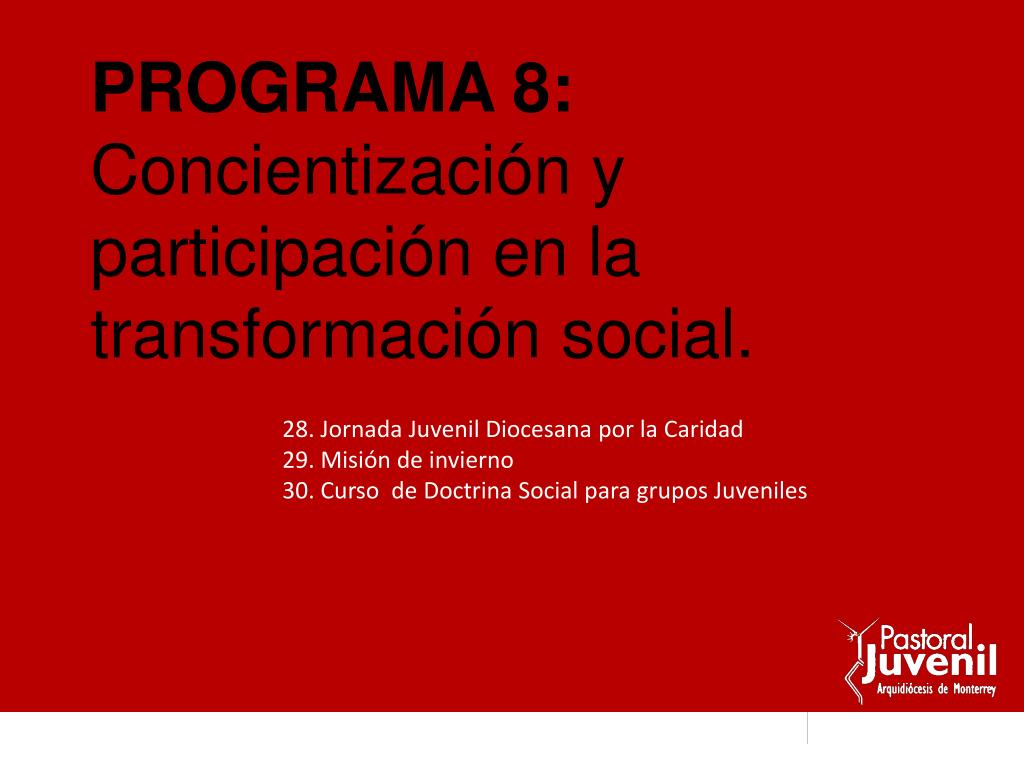 PROGRAMA 8: