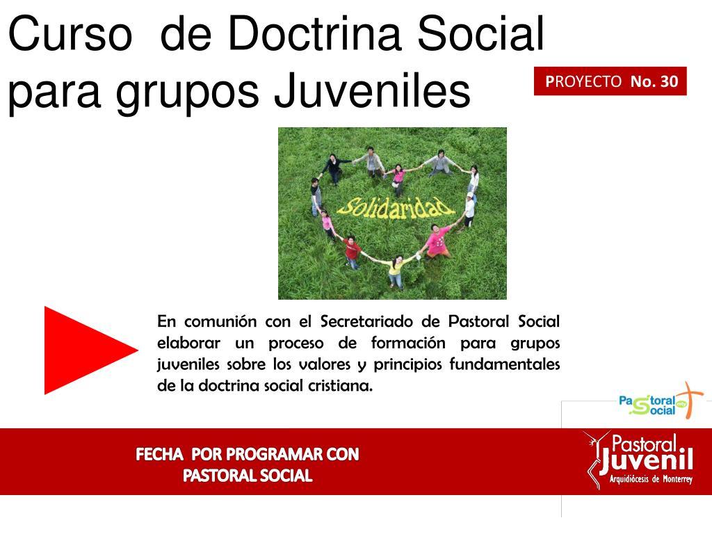 Curso  de Doctrina Social