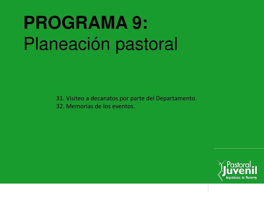 PROGRAMA 9: