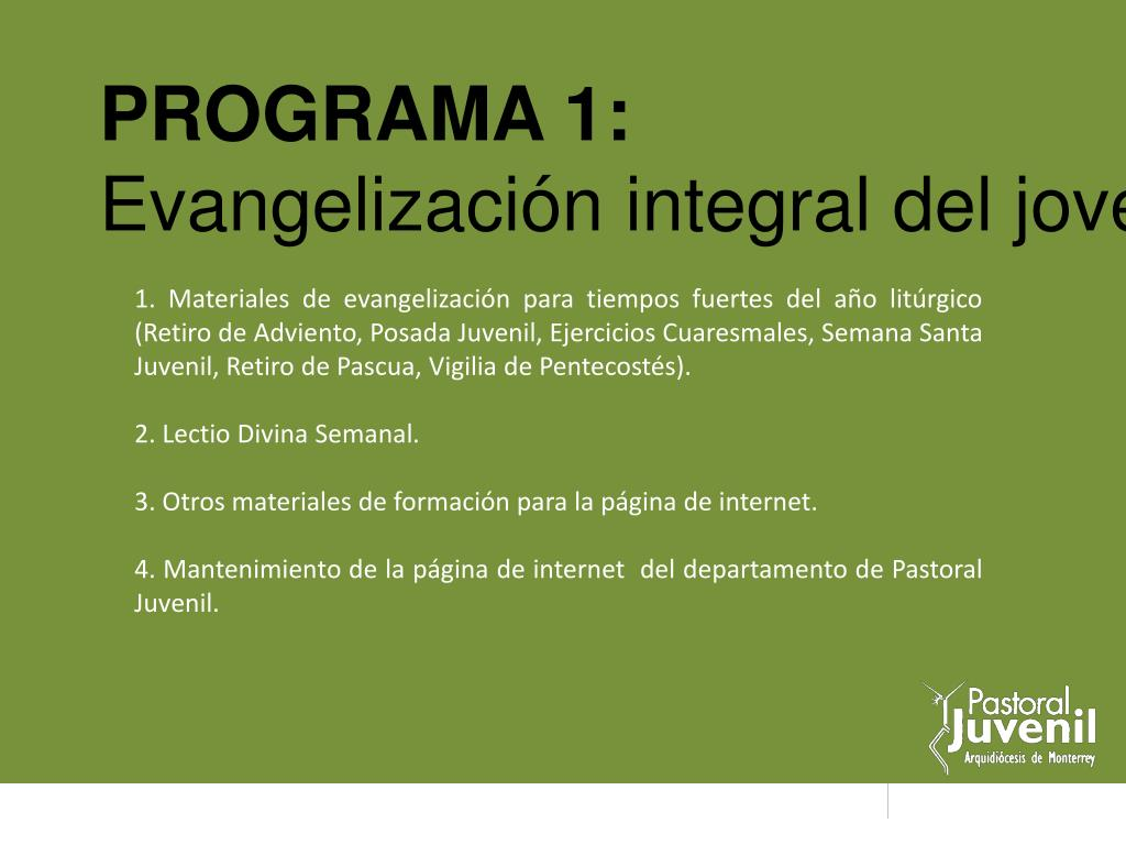 PROGRAMA 1: