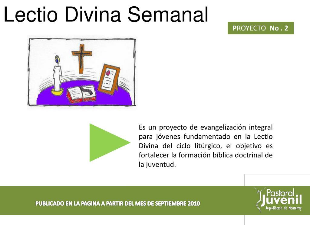 Lectio Divina Semanal