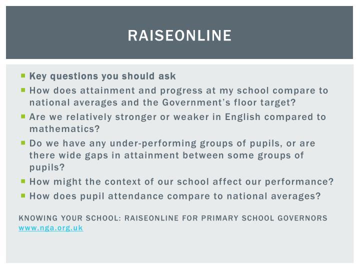 RAISEonline