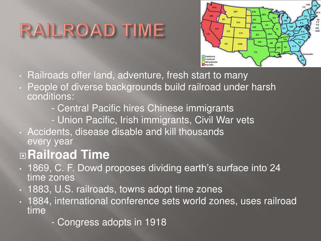 RAILROAD TIME