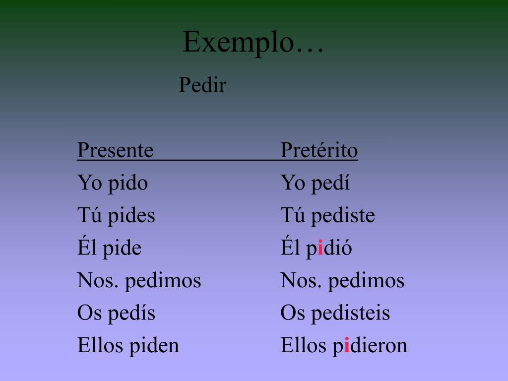 Exemplo…