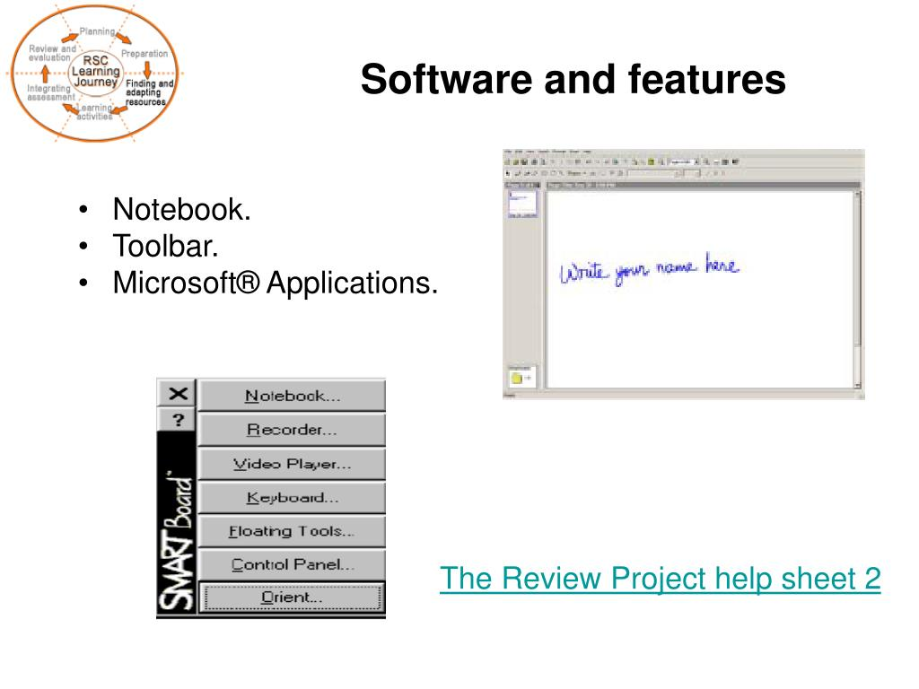 Software and features