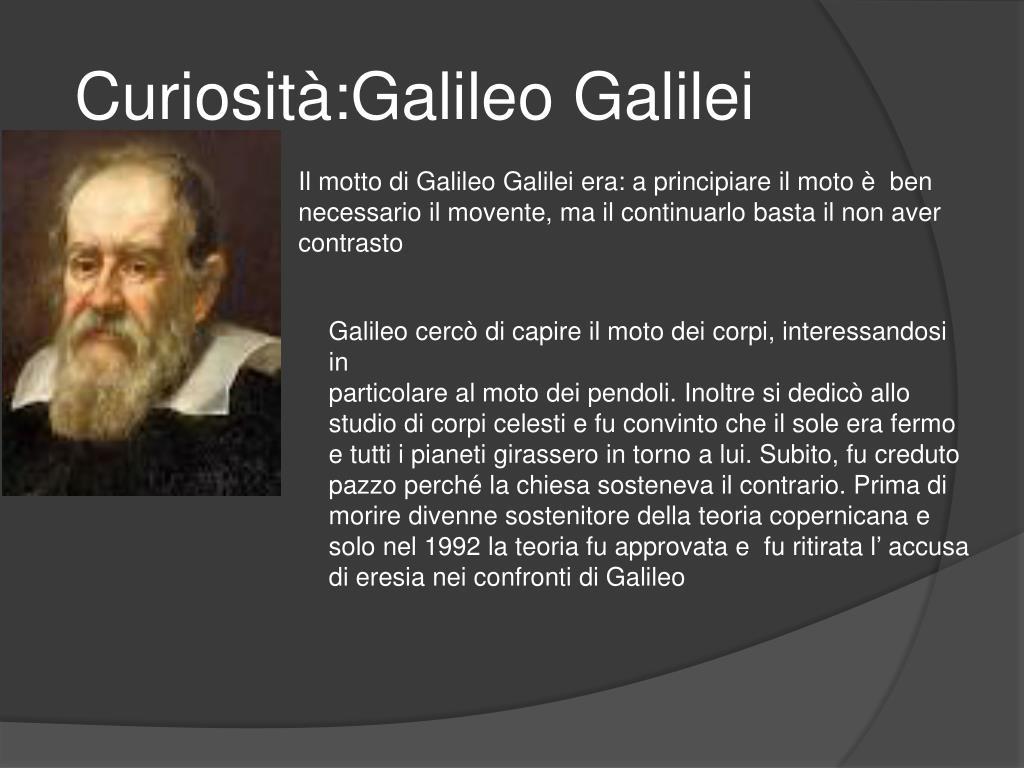 Curiosità:Galileo