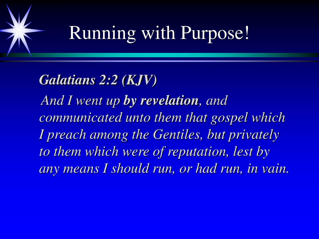 Running with Purpose!