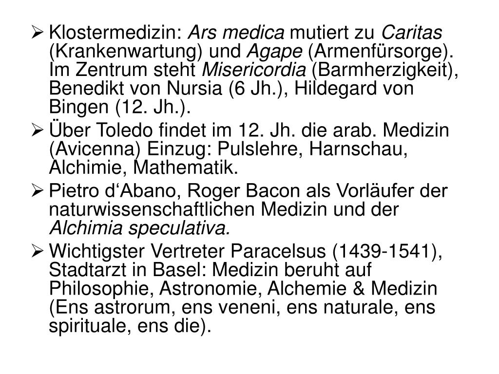 Klostermedizin: