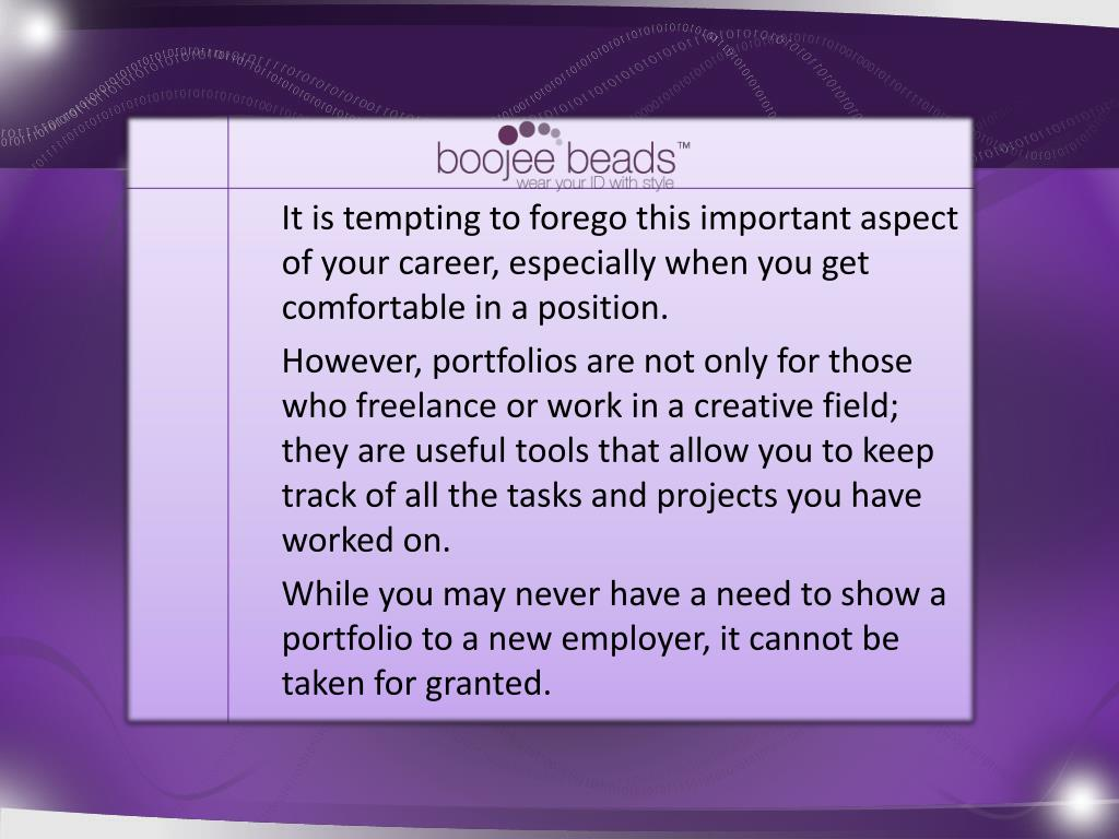It is tempting to forego this important aspect of your career, especially when you get comfortable in a position.
