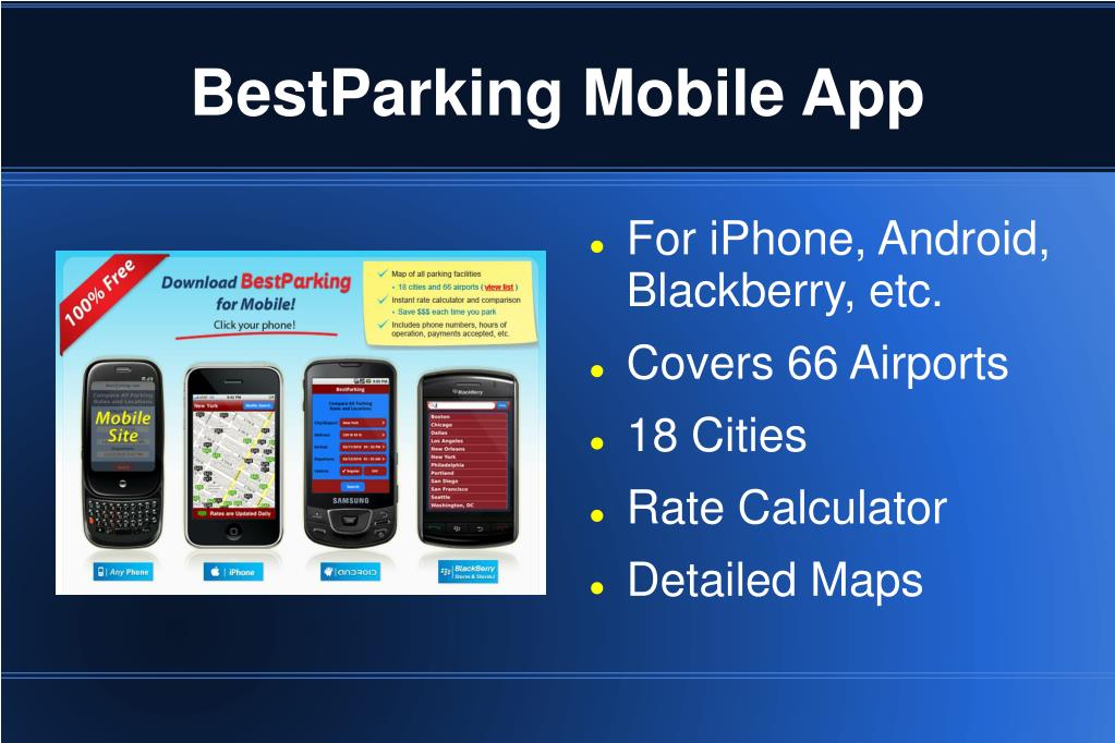 BestParking Mobile App