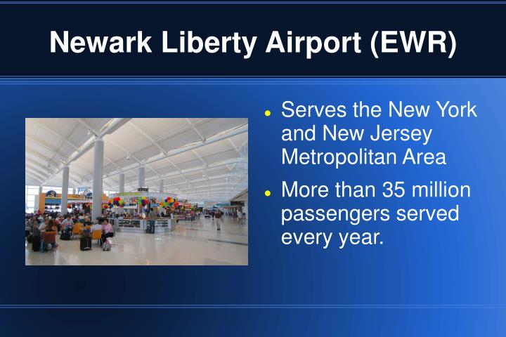Newark liberty airport ewr