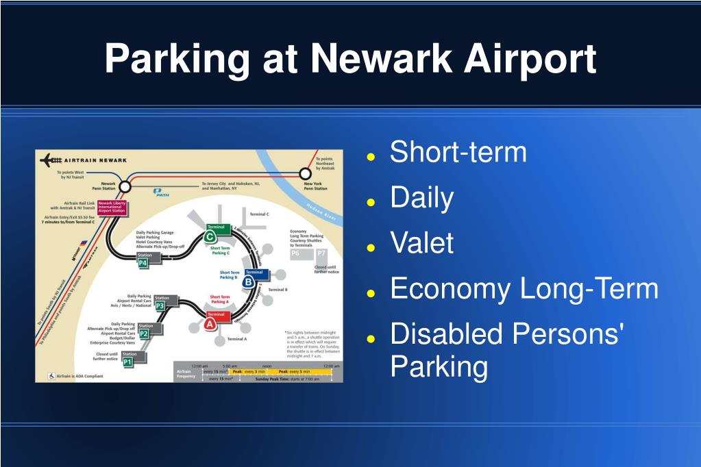 Parking at Newark Airport
