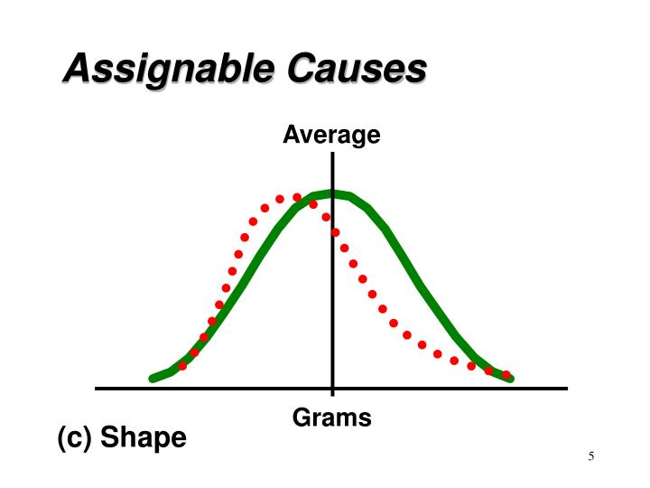 Assignable Causes