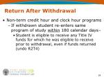 return after withdrawal1