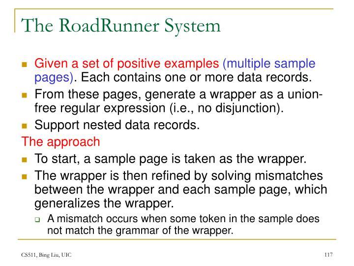 The RoadRunner System