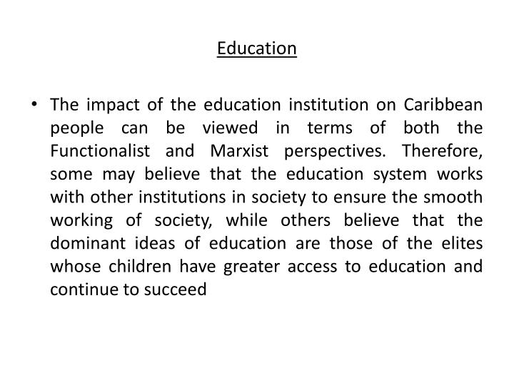 impact of education on society From education point of view we can have a virtual class where the instructor could sit in  information technology, its impact on society and its future.