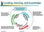 lending learning and knowledge