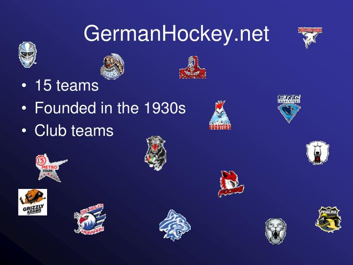GermanHockey.net