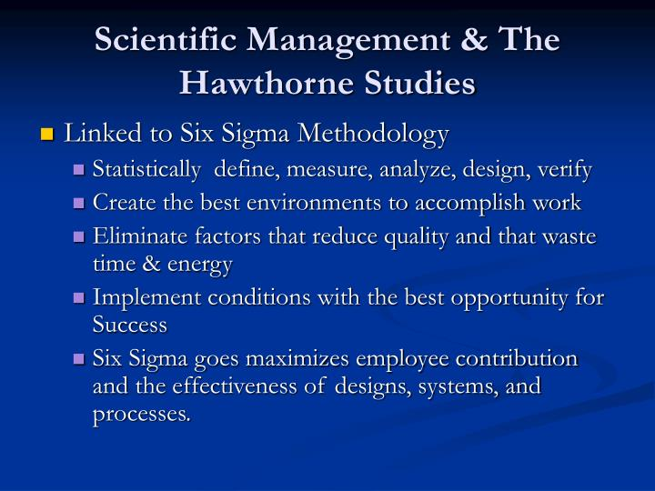 hawthorne studies contemporary management functions Classical and neo-classical theories  functions and principles of management  elton mayo's contributions came as part of the hawthorne studies,.