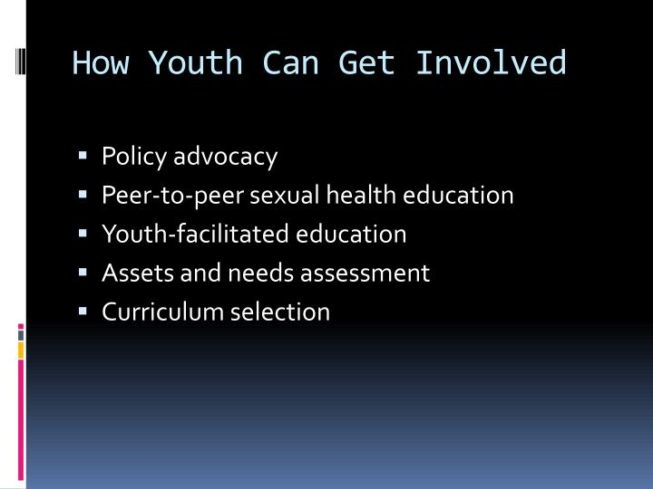 How Youth Can Get Involved