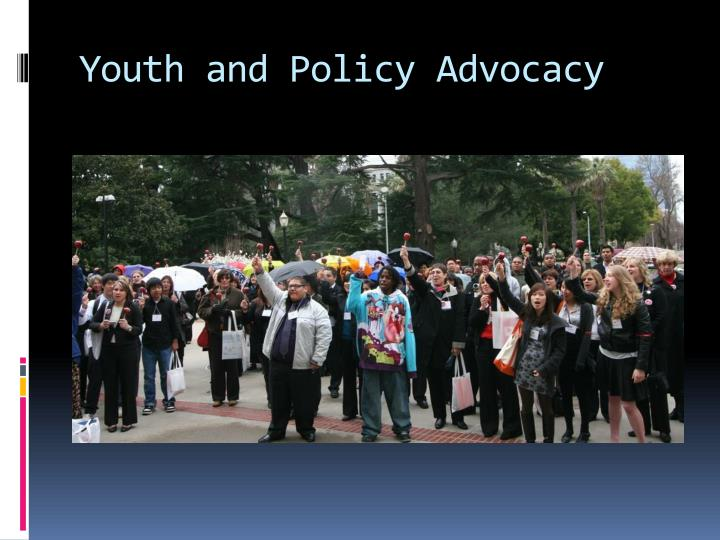 Youth and Policy Advocacy